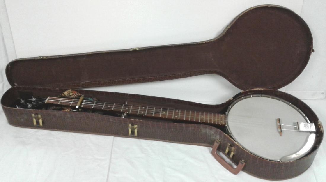 1964 Gibson Pete Seeger long neck banjo; serial #218300