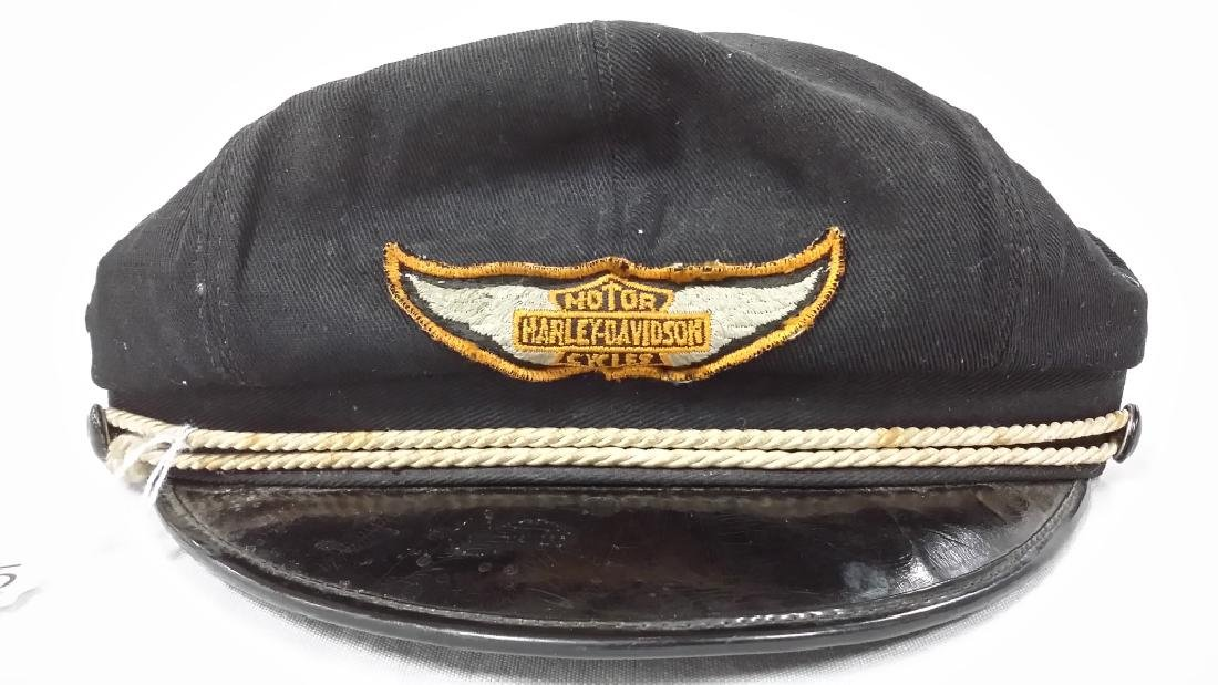 Vintage Harley Davidson riding cap- size 7