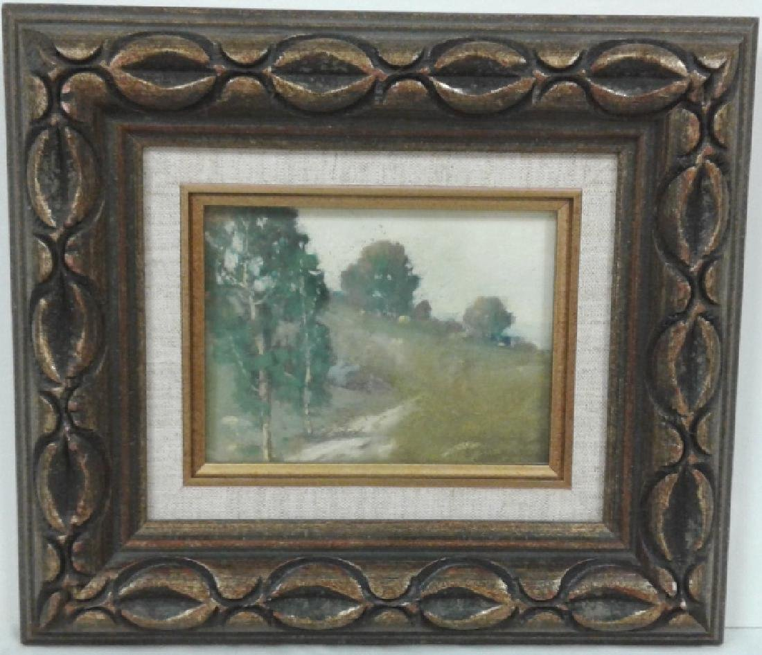 Framed signed E.H. (Edward) Pohl (1874 - 1956) pastel -