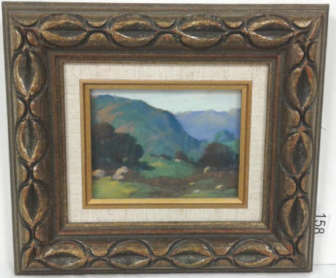 Framed signed E.H. (Edward) Pohl (1874 - 1956) pastel