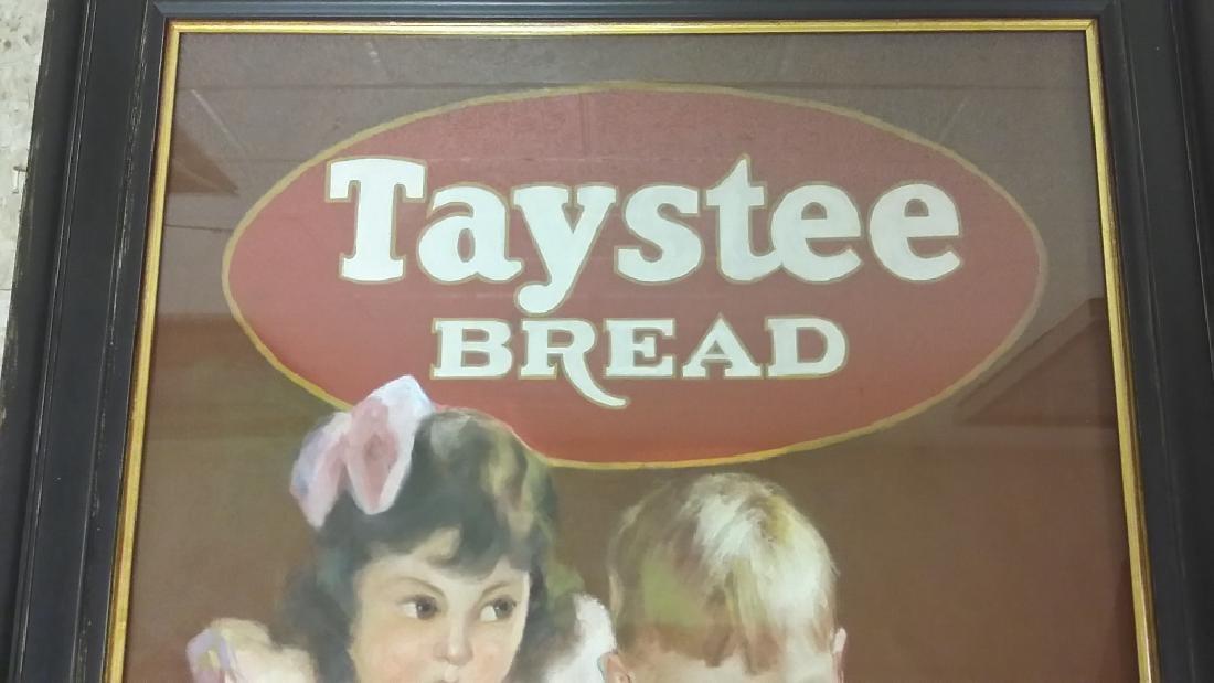 Framed original Irene Patten pastel advertising Taystee - 6