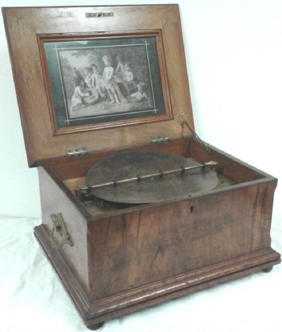 Schultz-Marke Symphonia music box with 27 approx. 12""