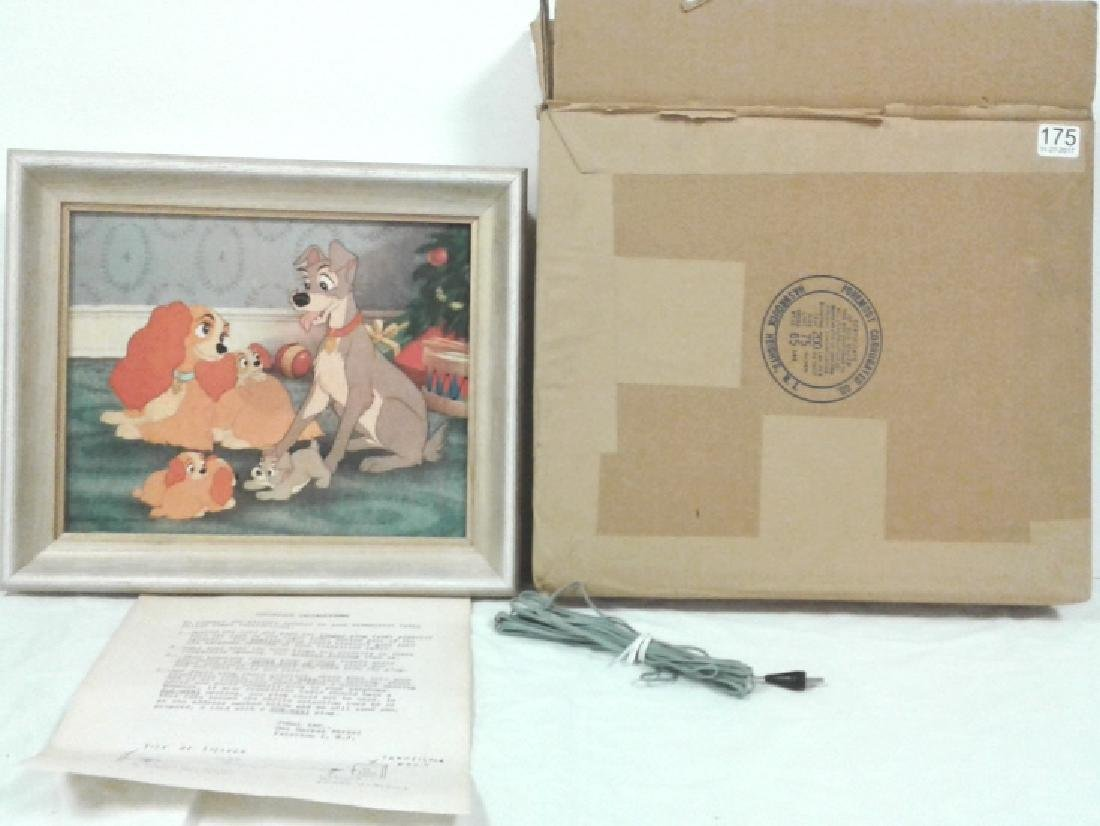 Disney Lady And The Tramp 1962 speaker in original box
