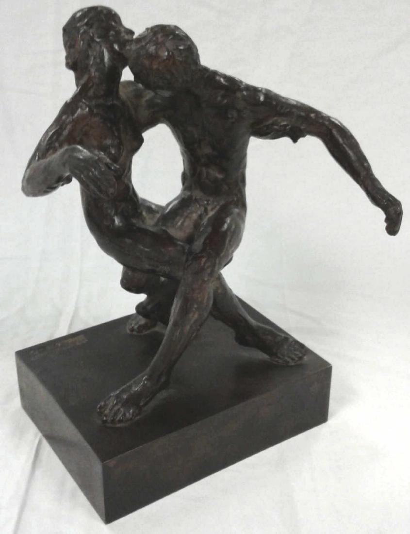 Minnesota artist signed P. (Paul) Granlund bronze