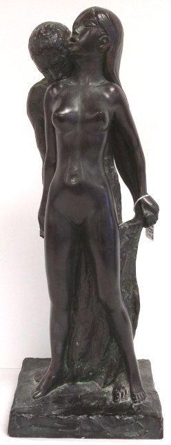 "21"" Leonardo Art composition sculpture, 1967"