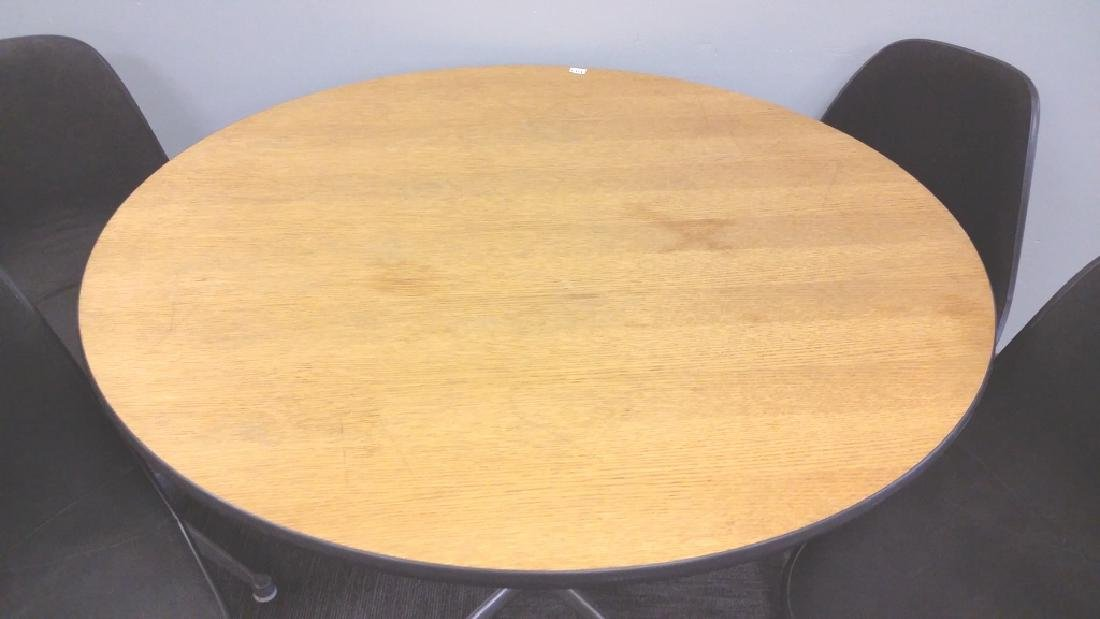 Signed Herman Miller set of 4 chairs & a Herman Miller - 2