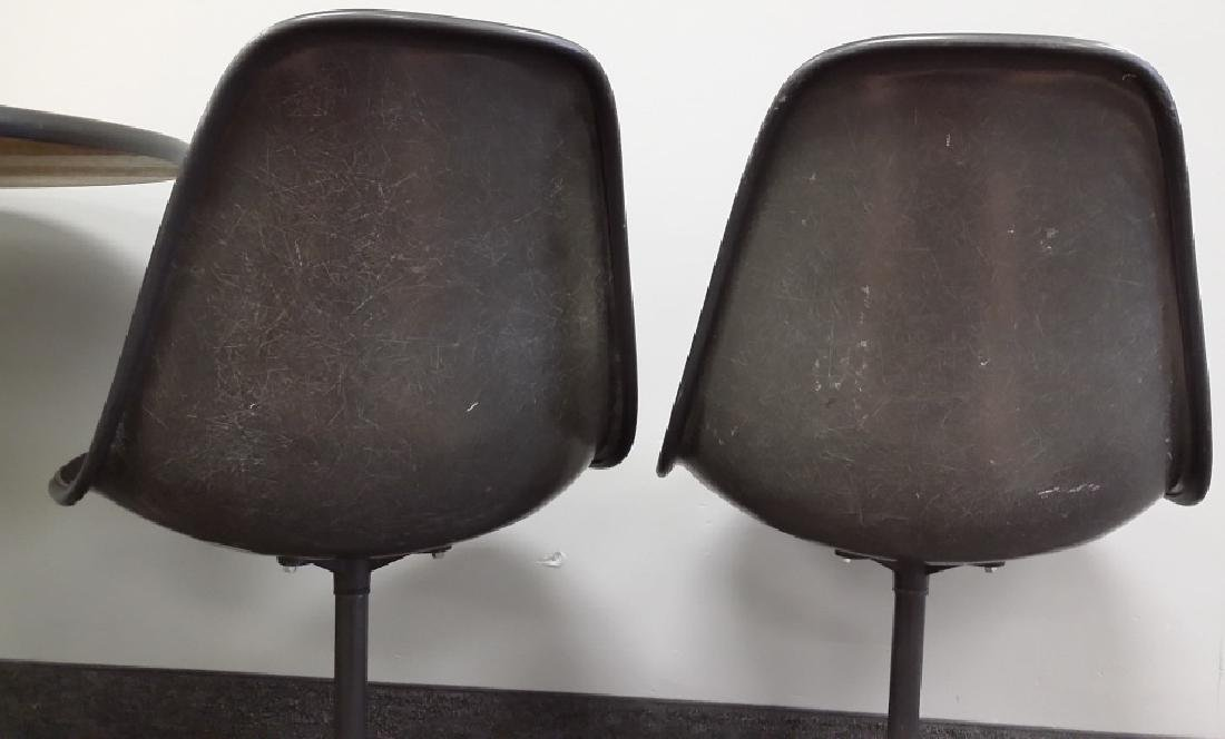 Signed Herman Miller set of 4 chairs & a Herman Miller - 3