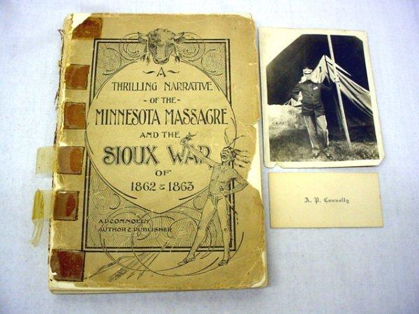 "1021: Book ""A Thrilling Narrative of the Minnesota Mass"