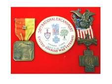 1185: Spanish American War grouping from Wisconsin, mem