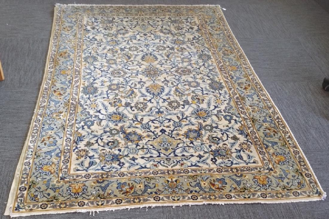 1940's to 50's Persian Kashan handmade rug approx 5'x