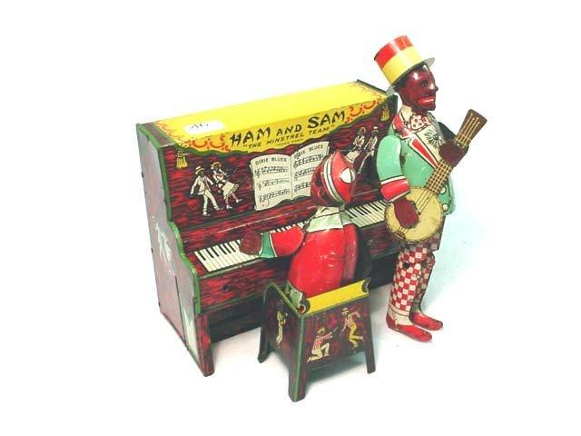 46: Ferdinand Strauss wind up Ham & Sam toy