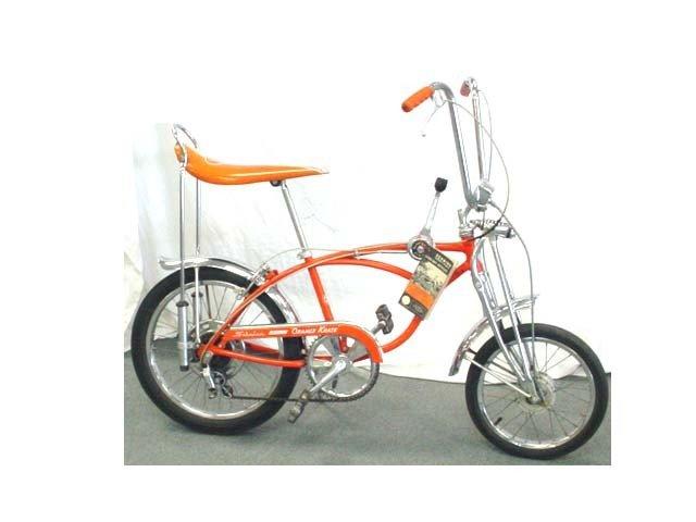 180: Original Schwinn Orange Crate boy's bike with