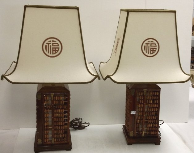 2 abacus lamps