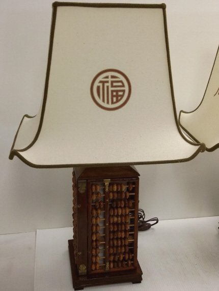 2 abacus lamps - 2