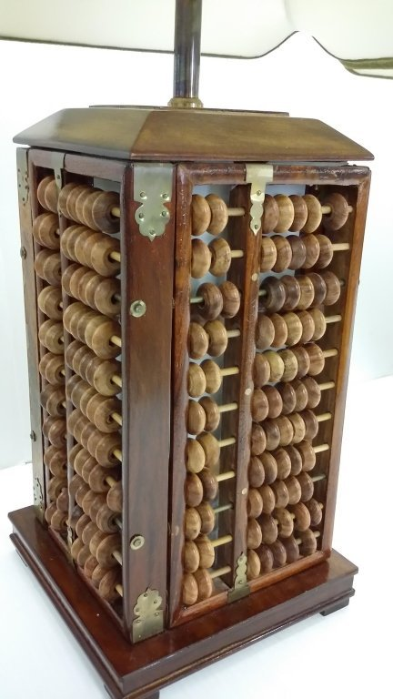 2 abacus lamps - 5