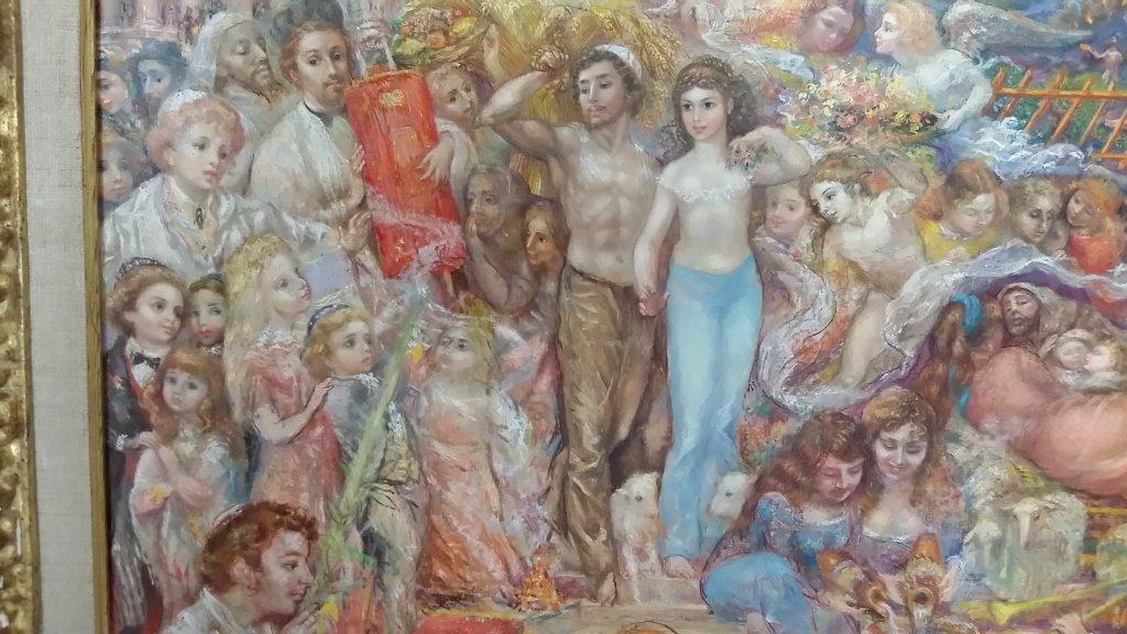 Framed signed Lucien Phillipe Moretti oil on canvas- - 3