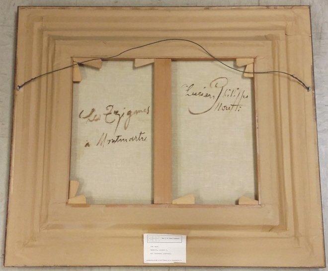 Framed signed Lucien Phillipe Moretti oil on canvas- - 10