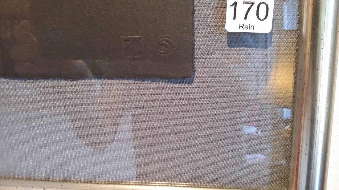 Framed signed & numbered 53/300 litho of Baryshnikov - 5