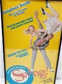 """Original """"Swing"""" Broadway Musical Poster"""