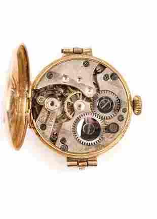 Angus & Coote 9K Gold Wrist Watch, Swiss Movement