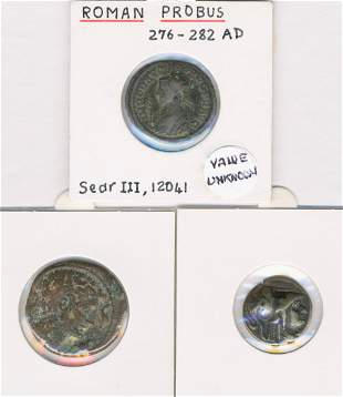 Ancient Macedonian and Roman Coins