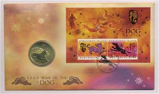 2006 Australian Fifty Cent Coin - Year of the Dog