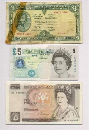 English and Irish Notes