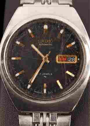 Seiko Automatic 17 Jewels Wrist Watch