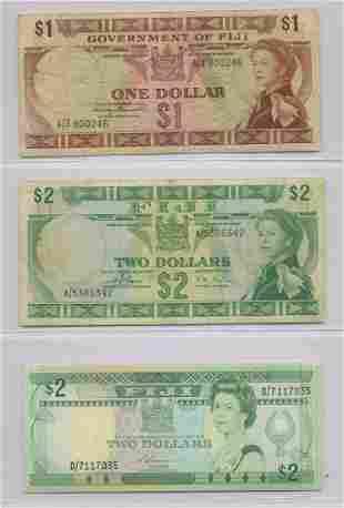 Six Fiji Notes