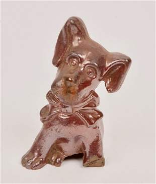 Lithgow Pottery Ceramic Dog