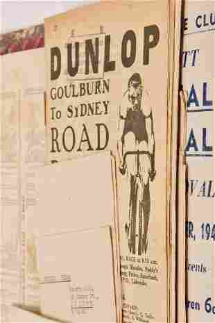 Early Australian Cyclist & Road Race Programmes