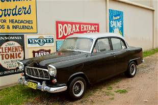 1957 Holden FE with Original Grey Motor