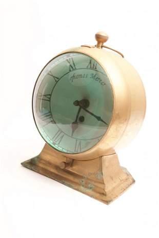 Antique Thomas Mercer Bench Clock