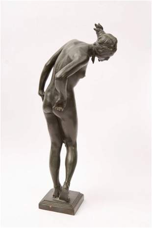 George Rayner Hoff Bronze Sculpture