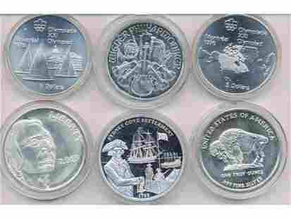 Six (6) Silver Coins