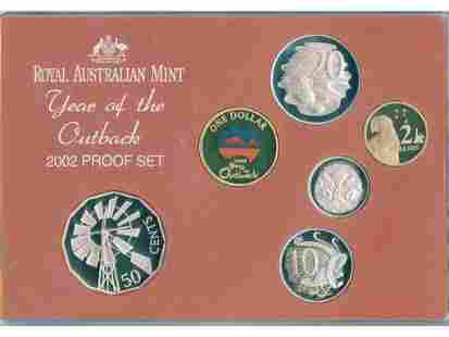 2002 Australian Six-Coin Proof Set