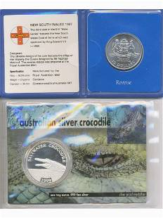 Two (2) Australian Silver Coins