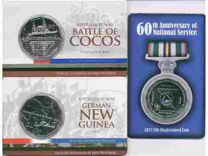 Three (3) Australian Collector Coins