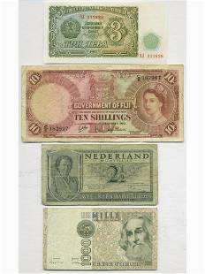 Four (4) World Notes