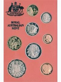 1990 Australian Eight-Coin Proof Set