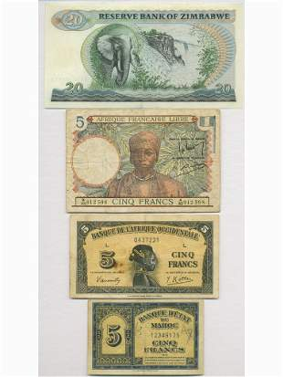 Seven (7) African Notes