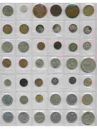 Early World Coins Dutch, Hong Kong, NZ, USA And