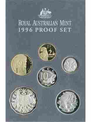 1996 Australian Six-Coin Proof Set