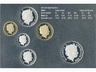 2008 Australian Six-Coin Proof Set