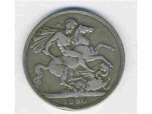 1890 Great Britain Queen Victoria Silver Coin