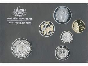 2014 Australian 6-coin Proof Set