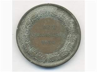 1914 German Empire Wartime Medal