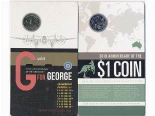 Two (2) 2014 Australian Coin Packs