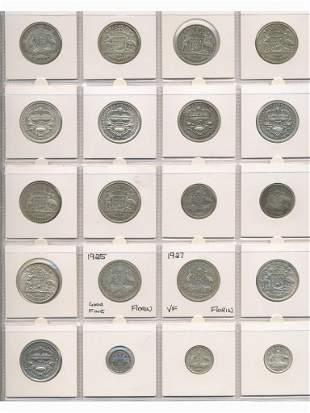 Twenty Pre-Decimal Coins in various Conditions