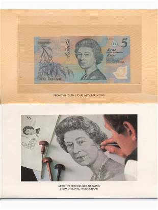 1992 Five Dollar Last Paper & First Polymer Notes